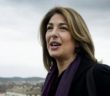 Naomi Klein poses for photographers , Rome, ITALY-04-02-2015/AGFEDITORIAL_144907/Credit:PIER PAOLO SCAVUZZO/AGF/SIPA/1502041514