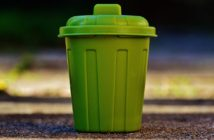 Garbage Can Bucket Waste Bins Garbage Green