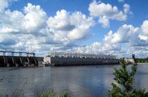 Carillon Hydro-electric Dam, Pointe Fortune, Quebec.