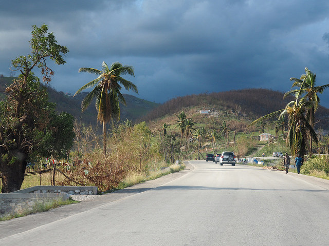 Sur la route de Grand'Anse, Haïti. Crédit-photo: Coralie Giese, CDC via Flickr CC-BY-2.0