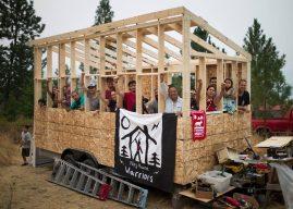 Colombie britannique : des tiny houses pour lutter contre l'installation d'un pipeline