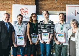 Le projet Cueillettes urbaines remporte les honneurs lors de l'événement Rêver le Montréal durable de demain !